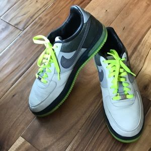 Nike Air Force 1- 82 Leather Tennis Shoes Size11.5